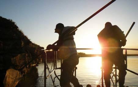 fishing-fisheries-managment-NMDGF-monitoring-populations-Boat-Electrofishing-2